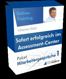 Assessment-Center-Mitarbeitergespräche online trainieren