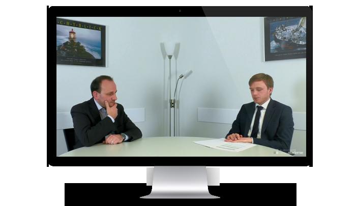 Assessment-Center-Mitarbeitergespräch mit Herrn Böhning Version 2