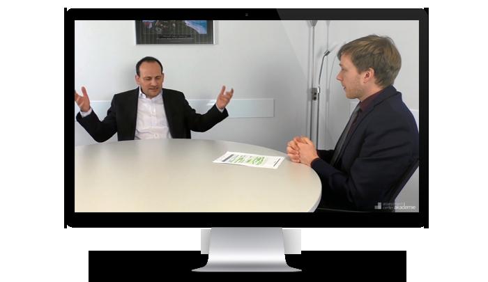 Assessment-Center-Mitarbeitergespräch mit Herrn Höfner Version 1