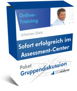 Assessment-Center-Training - Gruppendiskussion